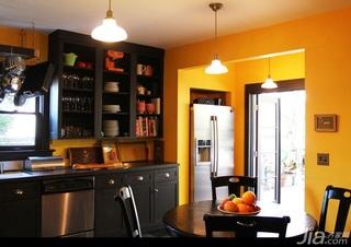 新古典风格别墅黄色经济型130平米厨房橱柜海外家居