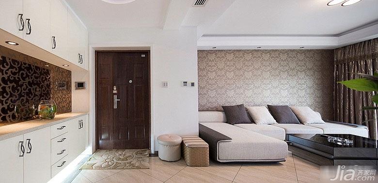 简约风格富裕型120平米客厅装修
