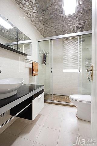 简约风格富裕型120平米卫生间吊顶洗手台效果图