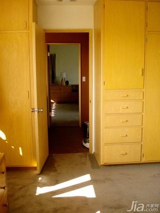 简约风格别墅黄色豪华型140平米以上过道海外家居