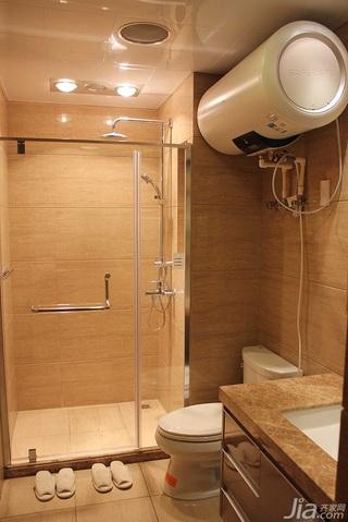 简约风格二居室10-15万80平米卫生间吊顶装修效果图