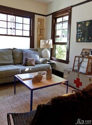 混搭风格公寓经济型140平米以上客厅沙发图片