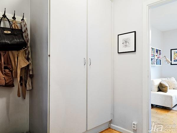 简约风格小户型经济型40平米玄关玄关柜海外家居