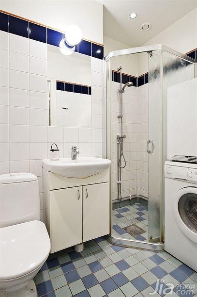 北欧风格公寓经济型60平米马桶海外家居