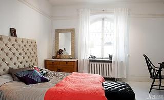 北欧风格公寓经济型70平米卧室床海外家居