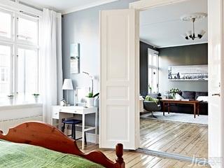 简约风格小户型经济型70平米卧室床海外家居