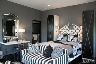 混搭风格别墅奢华豪华型卧室床海外家居
