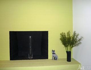 简约风格别墅黄色经济型100平米卧室海外家居