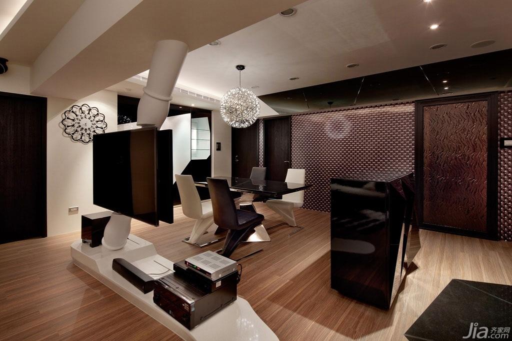 混搭童趣生活 创意无限黑白客厅