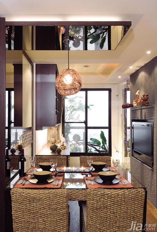 东南亚风格二居室富裕型餐厅吊顶灯具台湾家居