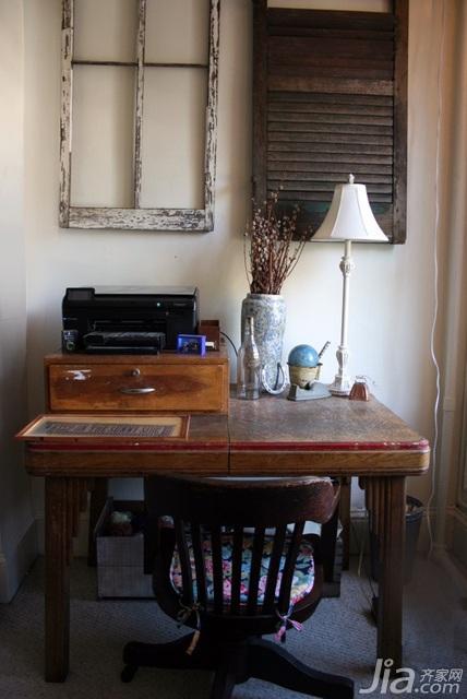 简约风格公寓经济型40平米卧室书桌海外家居