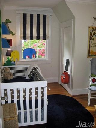 简约风格别墅经济型80平米卧室儿童床海外家居