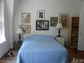 东南亚风格别墅经济型90平米卧室床海外家居