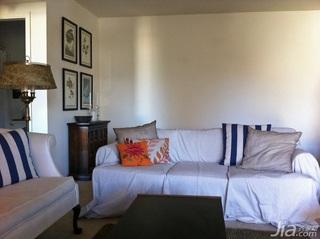 混搭式简约风的一居室公寓