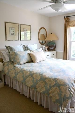 简约风格三居室经济型70平米卧室床海外家居
