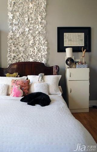 简约风格别墅富裕型100平米卧室床海外家居