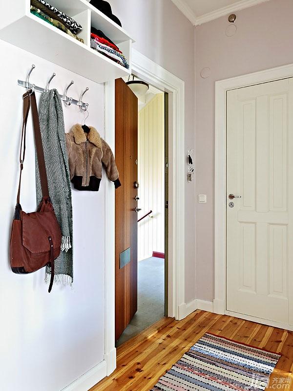 简约风格小户型经济型60平米玄关海外家居