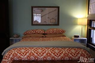 田园风格复式经济型70平米卧室床海外家居