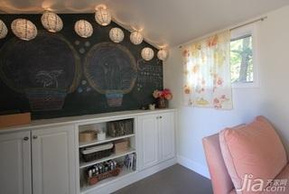 简约风格别墅经济型90平米储藏室手绘墙海外家居