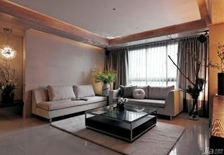 柔光溢彩二居室 巧妙衔接悠闲居家