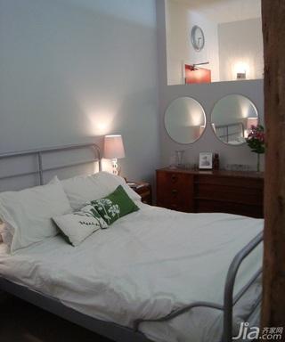 混搭风格小户型经济型70平米卧室床海外家居