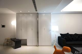 简约风格公寓富裕型70平米客厅衣柜台湾家居