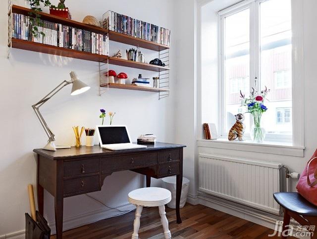 北欧风格小户型经济型40平米工作区书桌海外家居