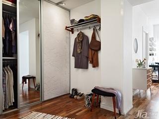 北欧风格小户型经济型40平米玄关海外家居