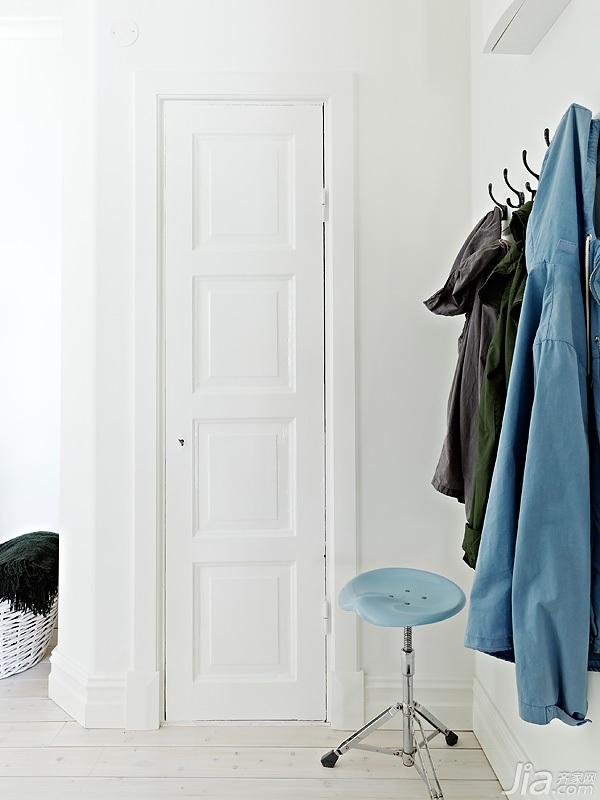 宜家风格小户型经济型60平米玄关海外家居