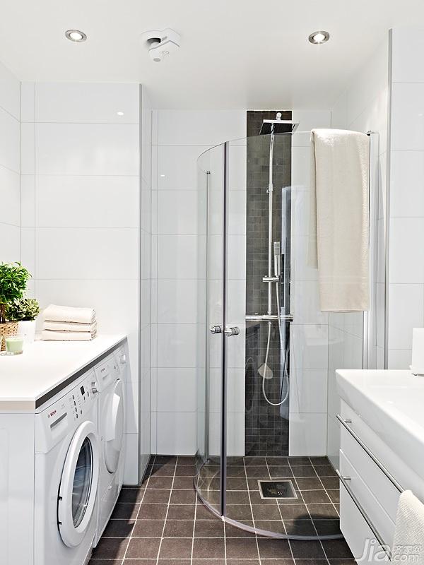 宜家风格小户型经济型60平米卫生间海外家居