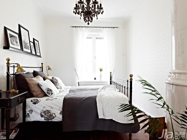 北欧风格小户型经济型70平米卧室床海外家居