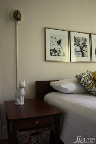简约风格公寓经济型60平米卧室床海外家居