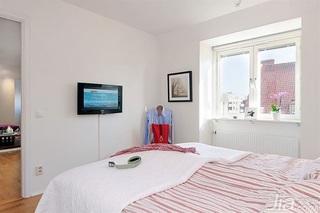 宜家风格二居室经济型卧室装潢