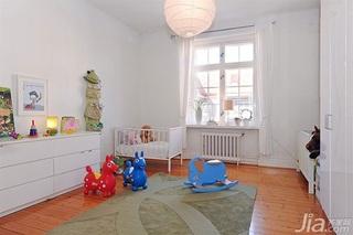 宜家风格二居室经济型儿童房儿童床图片