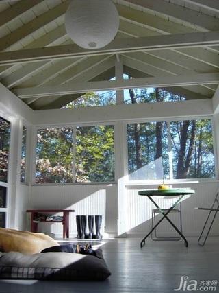 美式乡村风格公寓经济型70平米卧室床海外家居