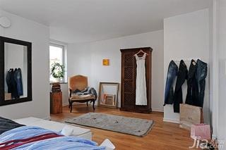 宜家风格三居室经济型110平米卧室装潢