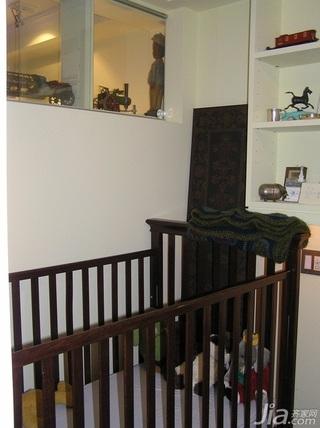 美式乡村风格别墅经济型70平米儿童房儿童床海外家居