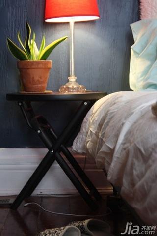 美式乡村风格别墅经济型70平米卧室床海外家居