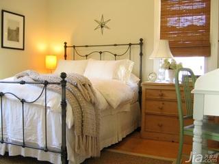 田园风格别墅经济型70平米卧室床海外家居