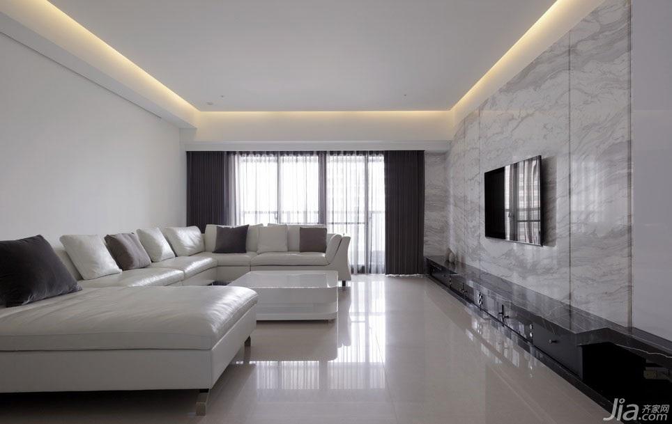 溫潤奶白色簡約家 純凈美感高雅居室