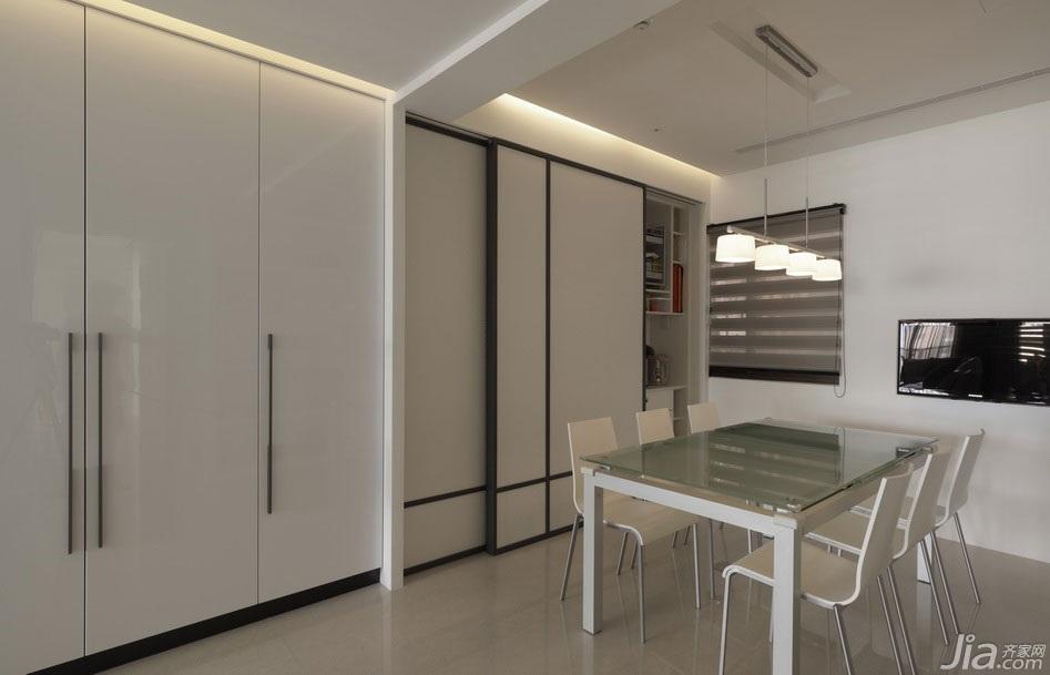 简约风格公寓富裕型餐厅橱柜台湾家居
