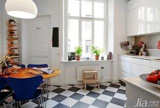 北欧风格三居室90平米厨房设计图