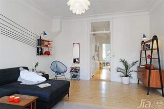 宜家风格小户型经济型60平米客厅装潢