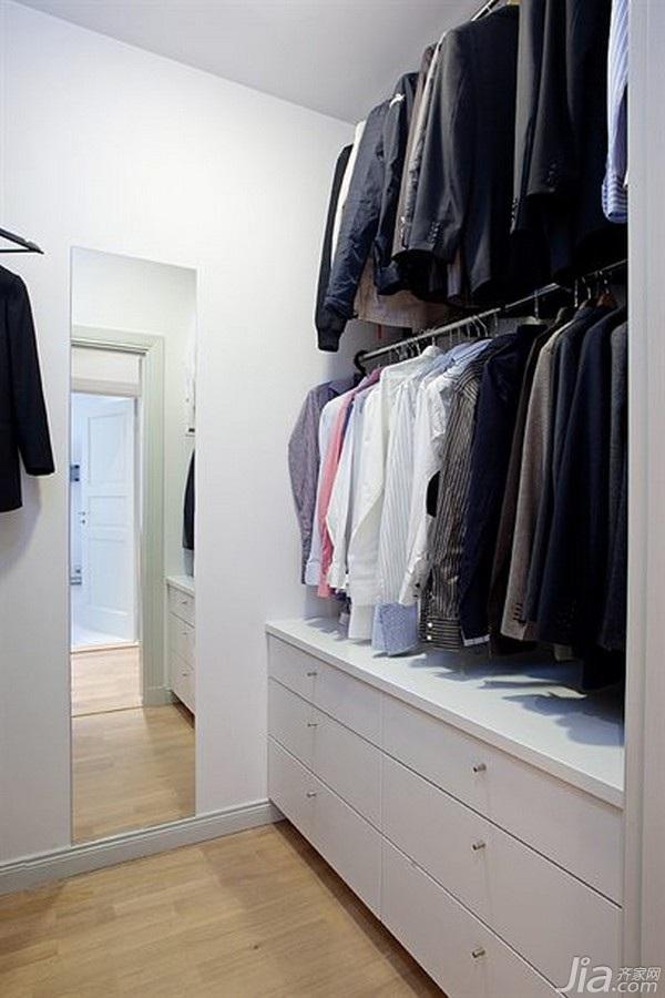 宜家风格小户型经济型衣柜海外家居