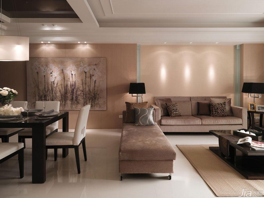 自在現代簡約時尚 白色典雅居室