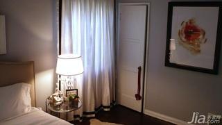 混搭风格小户型富裕型70平米卧室门海外家居