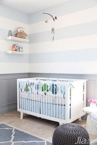 公寓100平米儿童房婴儿床图片