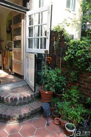 田园风格三居室经济型100平米过道海外家居