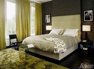 简约风格公寓富裕型110平米卧室床海外家居