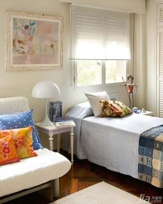 混搭风格公寓经济型110平米卧室床海外家居